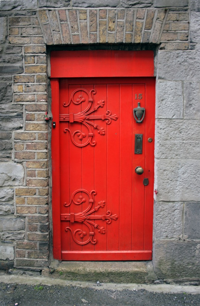 Lad Lane mews door