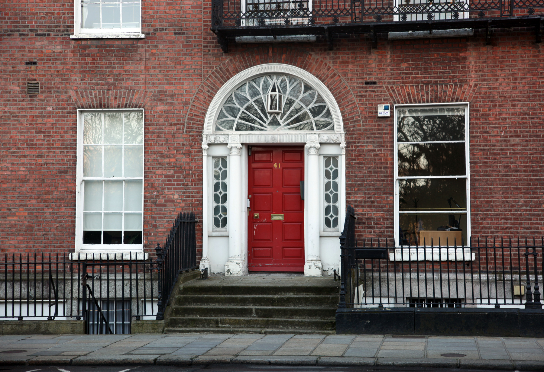 Fanlight 41 Merrion Square Dublin 2 Built Dublin