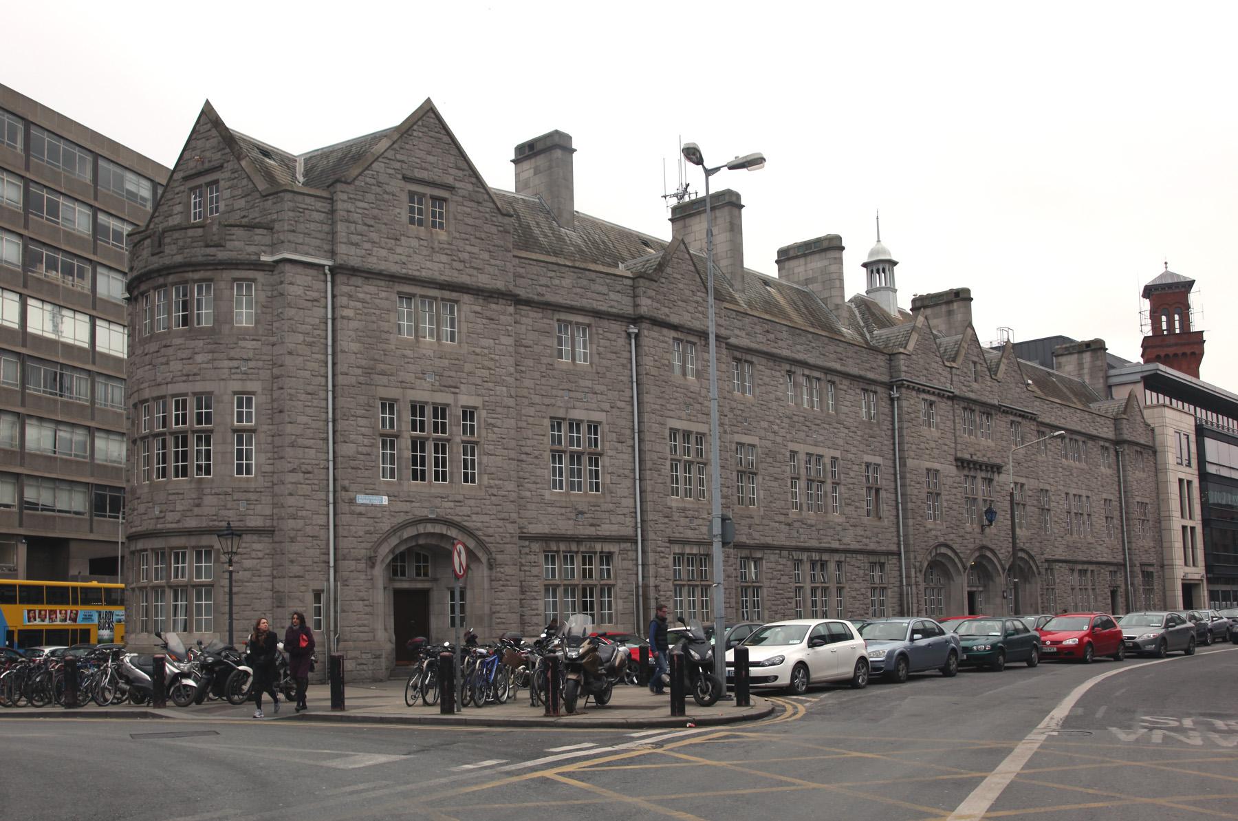 The Building Originally Had
